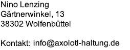 axolotl-haltung.de adresse